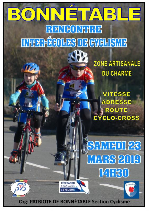 Vitesse de rencontres pour les cyclistes