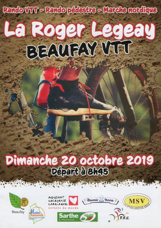 Calendrier Randonnée Pédestre Sarthe 2021 Beaufay   la Roger Legeay   randonnée VTT et pédestre   dimanche
